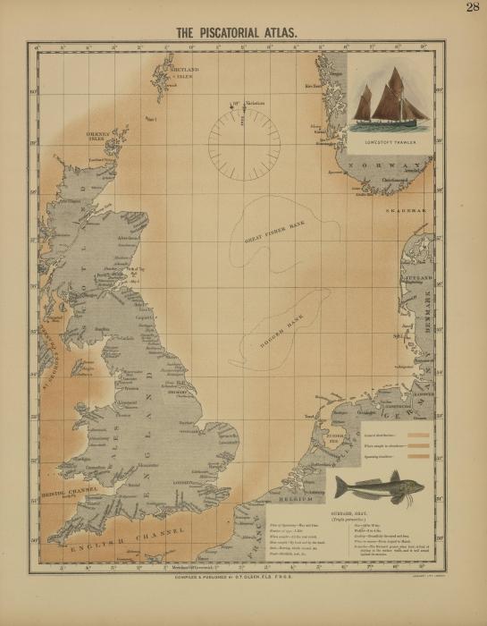 Olsen (1883, map 28)