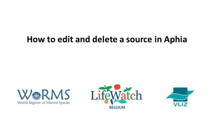 Editor instruction videos