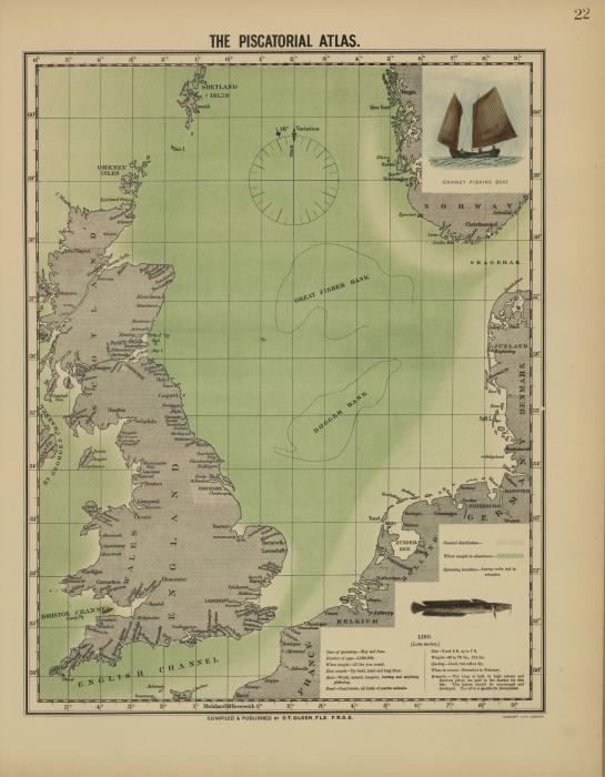 Olsen (1883, map 22)