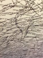 All fish names from WoRMS in an impressive artwork
