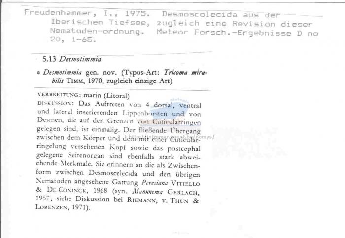 Desmotimmia